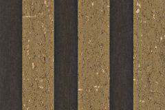 226675 cikkszámú tapéta.Csíkos,dekor,valódi textil,arany,fekete,gyengén mosható,illesztés mentes,vlies tapéta