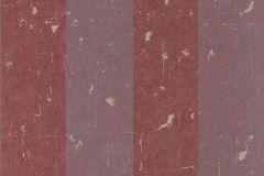 227337 cikkszámú tapéta.Csíkos,dekor,valódi textil,lila,piros-bordó,gyengén mosható,illesztés mentes,vlies tapéta