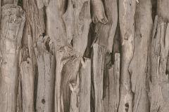 473223 cikkszámú tapéta.Absztrakt,fa hatású-fa mintás,különleges motívumos,barna,bézs-drapp,fekete,lemosható,vlies tapéta