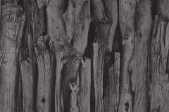 473230 cikkszámú tapéta.Fa hatású-fa mintás,különleges motívumos,fekete,szürke,lemosható,vlies tapéta