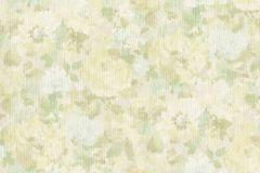 958522 cikkszámú tapéta.Különleges felületű,textilmintás,virágmintás,bézs-drapp,szürke,zöld,lemosható,vlies tapéta