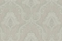959949 cikkszámú tapéta.Barokk-klasszikus,különleges felületű,textilmintás,barna,szürke,lemosható,vlies tapéta