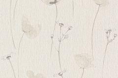 573718 cikkszámú tapéta.Textil hatású,virágmintás,barna,bézs-drapp,fehér,szürke,lemosható,illesztés mentes,vlies tapéta