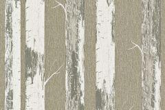 574500 cikkszámú tapéta.Fa hatású-fa mintás,természeti mintás,textil hatású,barna,fehér,szürke,zöld,lemosható,illesztés mentes,vlies tapéta
