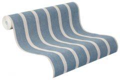 467055 cikkszámú tapéta.Csíkos,textil hatású,bézs-drapp,kék,szürke,lemosható,illesztés mentes,vlies tapéta