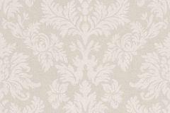 474336 cikkszámú tapéta.Barokk-klasszikus,textil hatású,bézs-drapp,fehér,lemosható,vlies tapéta