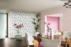 479317 cikkszámú tapéta.Egyszínű,textil hatású,pink-rózsaszín,lemosható,illesztés mentes,vlies tapéta