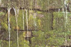 861303 cikkszámú tapéta.3d hatású,különleges felületű,különleges motívumos,természeti mintás,barna,bézs-drapp,fehér,zöld,lemosható,vlies tapéta