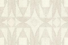 861815 cikkszámú tapéta.Absztrakt,különleges felületű,különleges motívumos,pöttyös,rajzolt,bézs-drapp,fehér,lemosható,vlies tapéta