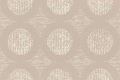 862201 cikkszámú tapéta.Absztrakt,különleges felületű,különleges motívumos,retro,barna,bézs-drapp,fehér,lemosható,vlies tapéta
