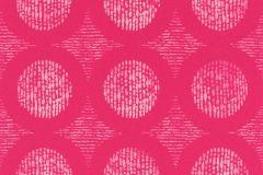 862225 cikkszámú tapéta.Absztrakt,gyerek,különleges felületű,különleges motívumos,rajzolt,retro,fehér,pink-rózsaszín,lemosható,vlies tapéta