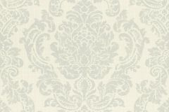 522723 cikkszámú tapéta.Barokk-klasszikus,különleges felületű,textilmintás,bézs-drapp,szürke,lemosható,vlies tapéta