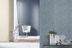 527346 cikkszámú tapéta.Egyszínű,különleges felületű,textilmintás,kék,lemosható,illesztés mentes,vlies tapéta