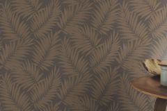 527575 cikkszámú tapéta.Különleges felületű,metál-fényes,természeti mintás,textilmintás,barna,lemosható,vlies tapéta