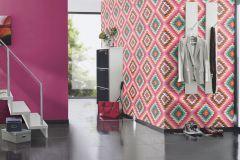 527377 cikkszámú tapéta.Egyszínű,különleges felületű,pink-rózsaszín,lemosható,illesztés mentes,vlies tapéta