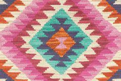 527445 cikkszámú tapéta.Absztrakt,különleges felületű,különleges motívumos,textil hatású,bézs-drapp,narancs-terrakotta,pink-rózsaszín,piros-bordó,türkiz,zöld,lemosható,vlies tapéta
