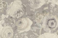 527841 cikkszámú tapéta.Különleges felületű,természeti mintás,textil hatású,virágmintás,bézs-drapp,szürke,lemosható,vlies tapéta