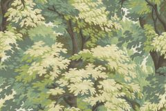 528220 cikkszámú tapéta.Fa hatású-fa mintás,különleges felületű,természeti mintás,textil hatású,barna,zöld,lemosható,vlies tapéta
