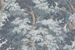 528251 cikkszámú tapéta.Textil hatású,fa hatású-fa mintás,különleges felületű,természeti mintás,barna,bézs-drapp,kék,lemosható,vlies tapéta