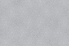 530520 cikkszámú tapéta.Absztrakt,különleges felületű,metál-fényes,virágmintás,szürke,lemosható,vlies tapéta