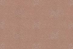 530551 cikkszámú tapéta.Absztrakt,különleges felületű,metál-fényes,virágmintás,bronz,lemosható,vlies tapéta