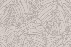 609332 cikkszámú tapéta.Egyszínű,metál-fényes,természeti mintás,szürke,lemosható,vlies tapéta
