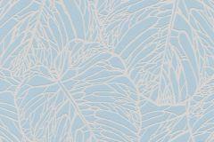 609356 cikkszámú tapéta.Absztrakt,metál-fényes,természeti mintás,ezüst,kék,szürke,türkiz,lemosható,vlies tapéta