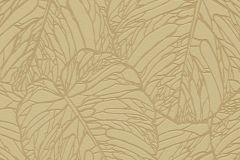 609370 cikkszámú tapéta.Absztrakt,egyszínű,metál-fényes,természeti mintás,arany,sárga,lemosható,vlies tapéta