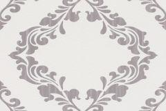 609523 cikkszámú tapéta.Barokk-klasszikus,metál-fényes,szürke,lemosható,vlies tapéta
