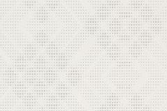 609615 cikkszámú tapéta.Geometriai mintás,pöttyös,fehér,szürke,lemosható,vlies tapéta