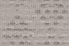 609646 cikkszámú tapéta.Geometriai mintás,pöttyös,ezüst,szürke,lemosható,vlies tapéta
