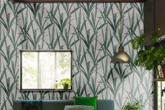 427028 cikkszámú tapéta.Természeti mintás,szürke,zöld,lemosható,vlies tapéta