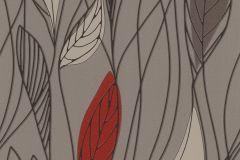 932935 cikkszámú tapéta.Természeti mintás,barna,bézs-drapp,piros-bordó,lemosható,vlies tapéta