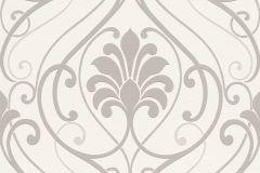933802 cikkszámú tapéta.Barokk-klasszikus,barna,fehér,lemosható,vlies tapéta