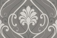 933833 cikkszámú tapéta.Barokk-klasszikus,barna,fehér,szürke,lemosható,vlies tapéta