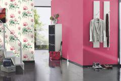 800616 cikkszámú tapéta.Egyszínű,textilmintás,pink-rózsaszín,lemosható,illesztés mentes,vlies tapéta