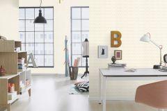 800661 cikkszámú tapéta.Egyszínű,textilmintás,fehér,lemosható,illesztés mentes,vlies tapéta