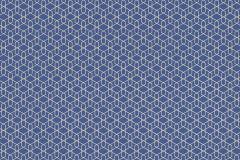 800913 cikkszámú tapéta.Különleges motívumos,absztrakt,ezüst,kék,lemosható,vlies tapéta