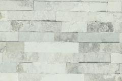 02-FOSSIL cikkszámú tapéta.Kőhatású-kőmintás,fehér,szürke,lemosható,papír tapéta