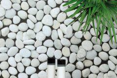 03-PELICAN cikkszámú tapéta.Kőhatású-kőmintás,különleges motívumos,fekete,szürke,lemosható,papír tapéta
