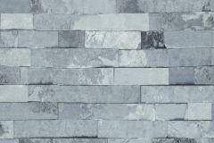 05-INK cikkszámú tapéta.Kőhatású-kőmintás,kék,szürke,lemosható,papír tapéta