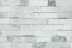 06-CEMENT cikkszámú tapéta.Kőhatású-kőmintás,szürke,lemosható,papír tapéta