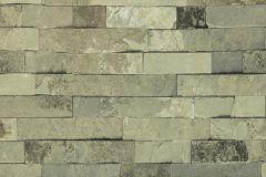 07-SAND cikkszámú tapéta.Kőhatású-kőmintás,szürke,zöld,lemosható,papír tapéta