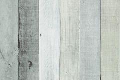 18-SILVER cikkszámú tapéta.Fa hatású-fa mintás,fehér,fekete,szürke,lemosható,papír tapéta