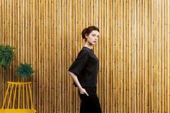 25-MACADAMIA cikkszámú tapéta.Természeti mintás,barna,bézs-drapp,lemosható,papír tapéta