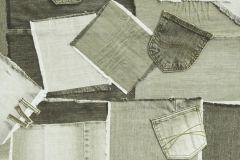 39-BEIGE cikkszámú tapéta.Különleges motívumos,barna,bézs-drapp,fehér,lemosható,papír tapéta