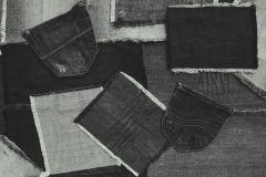 40-CHARCOAL cikkszámú tapéta.Különleges motívumos,fehér,fekete,lemosható,papír tapéta