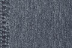 41-MARINE cikkszámú tapéta.Különleges motívumos,textilmintás,fekete,kék,szürke,lemosható,papír tapéta