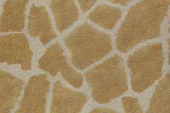 07-KARAT cikkszámú tapéta.állatok,természeti mintás,arany,barna,bézs-drapp,vajszín,gyengén mosható,papír tapéta