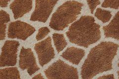 10-RUST cikkszámú tapéta.állatok,természeti mintás,barna,bézs-drapp,fehér,gyengén mosható,papír tapéta